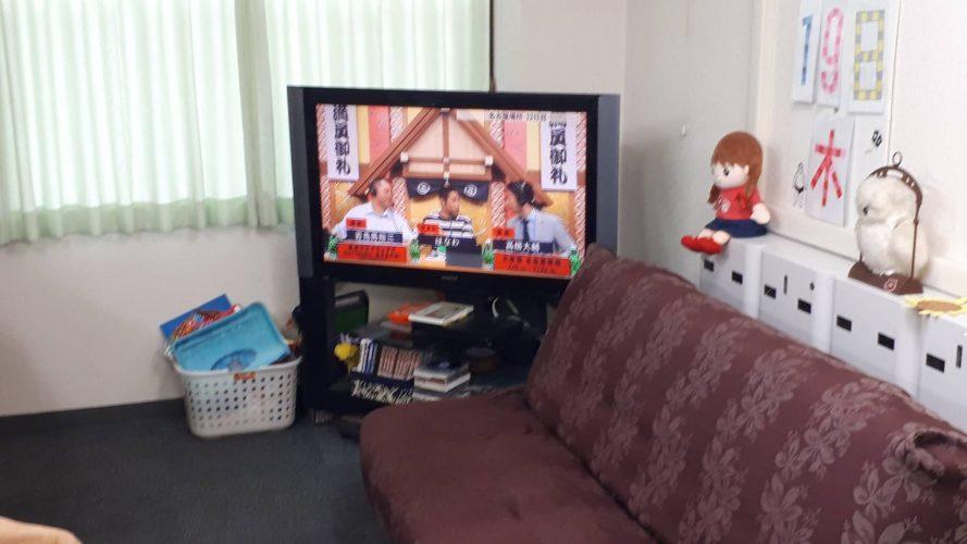 AbemaTVにて相撲観戦